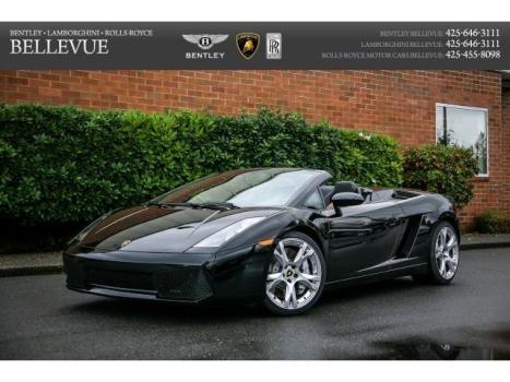 Lamborghini : Gallardo Spyder Fully Serviced, Carbon Fiber interior, Front End Lift, Heated Seats, $260k MSRP
