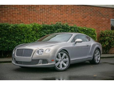 Bentley : Continental GT 2DR CPE Certified. 1 owner, $206,155 MSRP, w/ 21