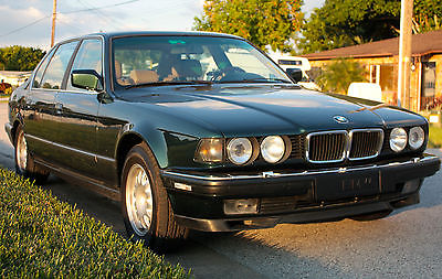 BMW : 7-Series 740iL 1993 bmw 740 il iceland green metallic 22 k in recent restoration
