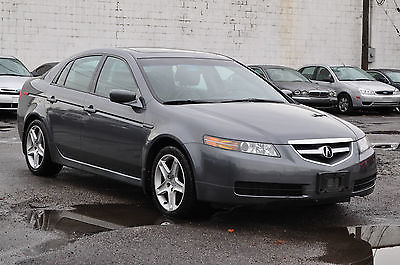 Acura : TL Base Sedan 4-Door Only 99K Navigation Heated Leather Xenons Clean Car! Rebuilt Salvage TSX RSX