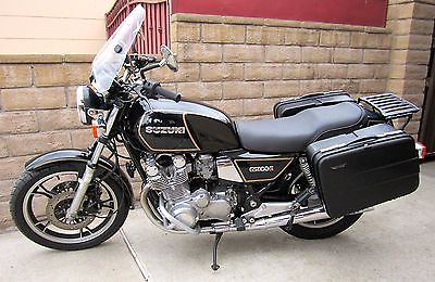 Suzuki : Other 1982 suzuki gs 1100 g motorcycle w saddle bags cover runs price lowered