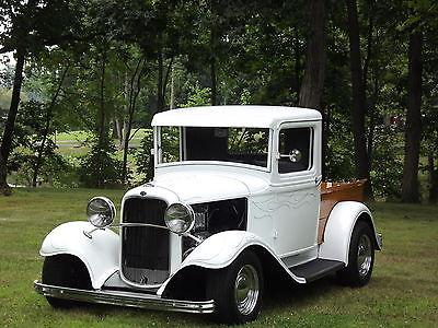 Ford : Other Pickups Truck 1932 32 ford pickup hennery body frame california dream street rod jaguar rear