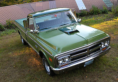 GMC : Other Custom Fleetside 1969 gmc custom 1500 fleetside new 350 4 speed 68 70 71 72 chevy protect o plate
