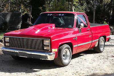 Chevrolet : C-10 Standard 1987 chevy swb super sweet l k