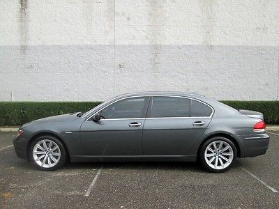 BMW : 7-Series 750Li Navigation Leather Moonroof Heated seats New Tires Only 52k MIles