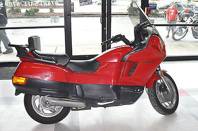 Honda : Other 1997 honda pacific coast pc 800 pc 800 motorcycle red