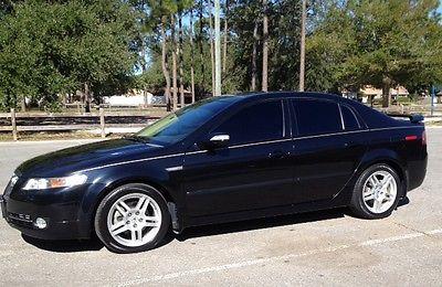 Acura : TL Base Sedan 4-Door Black sedan. Low miles, tinted windows, ALL Power, heated seats HOT!!