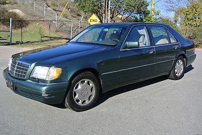 Mercedes-Benz : S-Class S420 1 owner 95 mercedes benz s 420 w 140 s class big body sedan v 8 saloon 73 k orig mi
