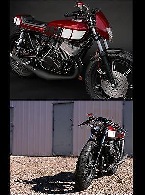 Yamaha : Other 1977 yamaha rd 400 425 cafe racer or tracker style custom by rusty bolt garage