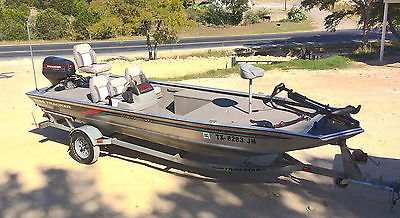 1996 18 Foot Bass Tracker Aluminum Fishing Boat 'Low Miles'