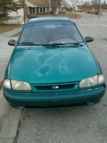 Ford : Aspire Base Hatchback 3-Door 1994 ford aspire rebuilt engine and newer automatic transmission