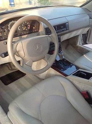 Mercedes-Benz : SL-Class SL500-CONVERTIBLE-V8 1998 mercedes benz sl 500 2 dr roadster