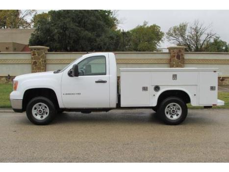 GMC : Sierra 2500 Utility Bed 2008 gmc 2500 reg cab utility bed service body mechanic bed