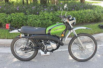 Kawasaki : Other 1974 kawasaki ks 125 vintage enduro 2 stroke ke kx kd restoration very rare
