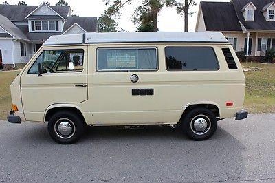 Volkswagen : Bus/Vanagon Westfalia 1982 volkswagen bus vanagon westfalia camper
