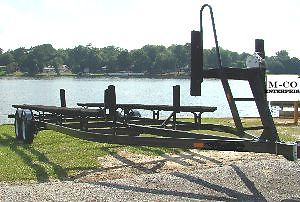 22 / 24 ft Pontoon Boat Trailers. $1995.00.  All sizes available