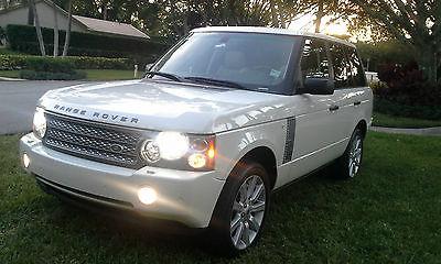 Land Rover : Range Rover SC 2008 range rover supercharge sc best color combo excellent condition
