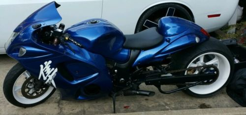 Custom Built Motorcycles : Other 2008 hayabusa myrtle west 360 fat tire kit
