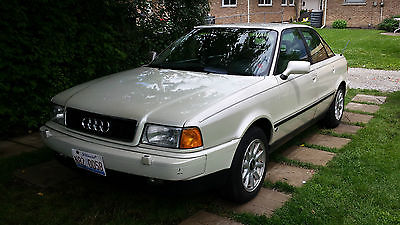 Audi : 90 base coupe 4-door. AUDI 90 SPORT 1995  VERY RARE Sedan 4-Door, V6 GAS, Pearl White Color