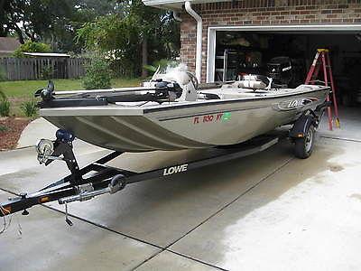 2007 LOWE STINGER 170 ALUMINUM BASS FISHING BOAT