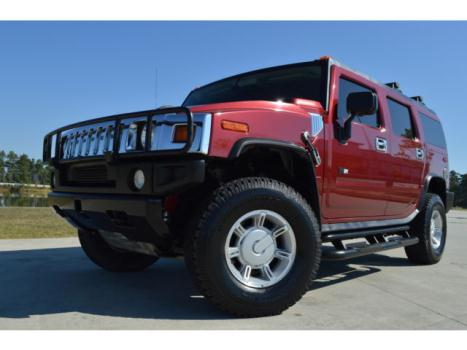 Hummer : H2 4dr Wgn SUV 2005 hummer h 2 navigation sunroof trade in very nice