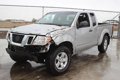 Nissan : Frontier King Cab 4WD 2012 nissan frontier king cab 4 wd damaged wrecked project priced to sell l k
