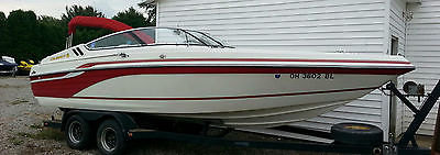 1995 - 23 FOOT CELEBRITY BOWRIDER BOAT 7.4L MERC (V8) /BRAVO I *GREAT CONDITION*