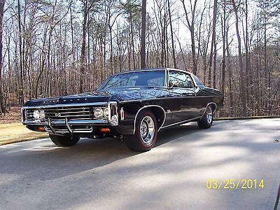 Chevrolet : Impala Custom 2 door hardtop 1969 ss 427 z 24 impala custom 2 door hardtop