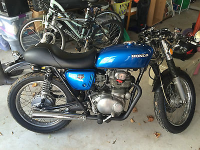 Honda : CB Honda CB350 Cafe Racer