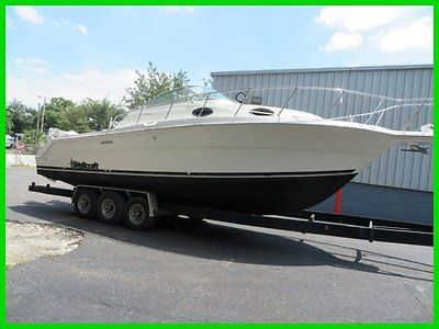 1999 WELLCRAFT COASTAL 290 WA W/ TWIN 2009 EVINRUDE 225 HP & TRAILER