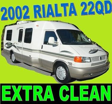 vw rialta 2002 rvs for sale rh smartrvguide com 2002 Rialta Floor Plan Of Winnebago Rialta RVs Floor Plans