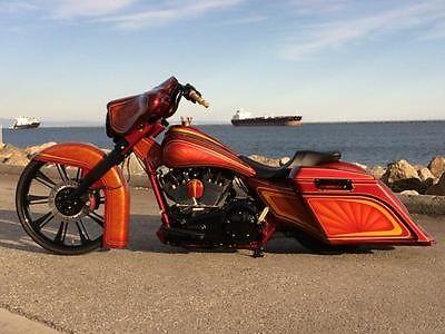 harley davidson street glide custom bagger with 26 motorcycles for sale. Black Bedroom Furniture Sets. Home Design Ideas