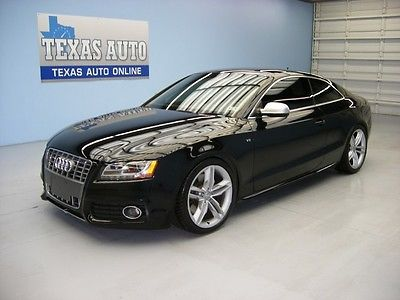 Audi : S5 S 5 AWD NAV WE FINANCE!! 2010 AUDI S5 PRESTIGE QUATTRO 6 SPEED ROOF NAV SUEDE TEXAS AUTO