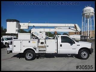 Ford : Other Pickups Reg Cab WB 4 wd f 550 powerstroke diesel 37 hi ranger bucket lift dually 4 x 4 we finance