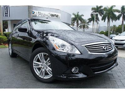 Infiniti : G37 x G37X ALL WHEEL DRIVE navigation heated seats 1 owner clean carfax florida car