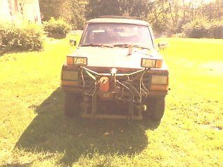 Ford : Bronco II XLT Bronco 2 plow truck with extra parts