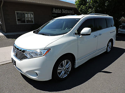 Nissan : Quest 2014 nissan quest sl only 3 k mi nav leather moon dvd 3 rd row bose loaded