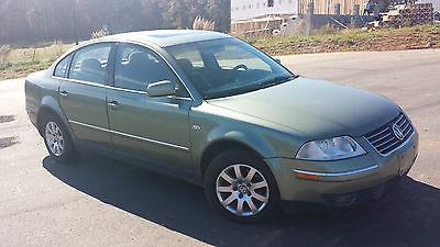 Volkswagen : Passat GLS Sedan 4-Door 2001 volkswagen passat gls sedan 1.8 l mechanically sound