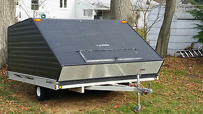 2002 SnoPro snowmobile trailer