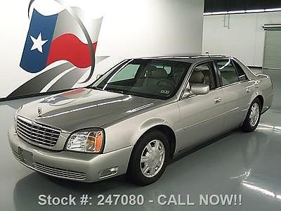 Cadillac : DeVille CALL NOW !! 2004 cadillac deville v 8 climate leather wood trim 41 k texas direct auto