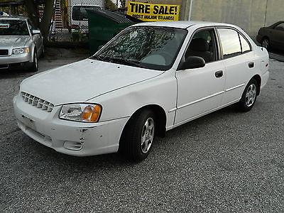 Hyundai : Accent GL Sedan 4-Door 2002 hyundai accent gl sedan 4 door 1.6 l