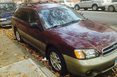 Subaru : Legacy L Wagon 4-Door 2000 subaru legacy l wagon 4 door 2.5 l burgundy