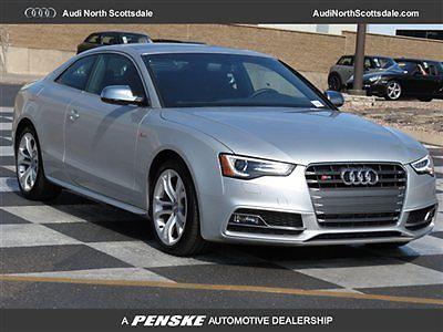 Audi : S5 2dr Coupe Automatic Premium Plus 2 dr coupe automatic premium plus new automatic gasoline 3.0 l v 6 cyl ice silver m