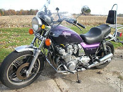 Honda : CB 1981 honda cb 900 custom paint purple scorpion