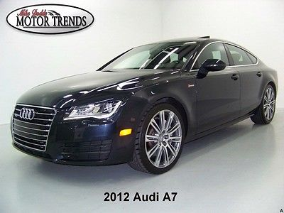 Audi : A7 2012 audi a 7 awd quattro 3.0 t supercharged navigation rearcam sunroof s line 25 k