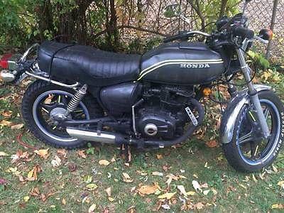 Honda : CB 1978 honda cb 400 hawk