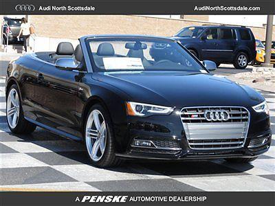 Audi : S5 2dr Cabriolet Prestige 2 dr cabriolet prestige new convertible automatic gasoline 3.0 l tfsi v 6 dohc bril