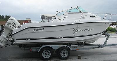 2001 Seaswirl Striper 2101 - Walk-around