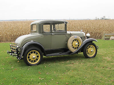 Ford : Model A Coupe 1931 ford model a