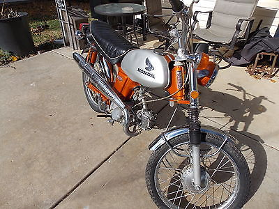 Honda : CL L@@K RARE COLOR 1970 HONDA CL 70  CLASSIC BARN FIND NO TITLE MO. W BILL OF SALE